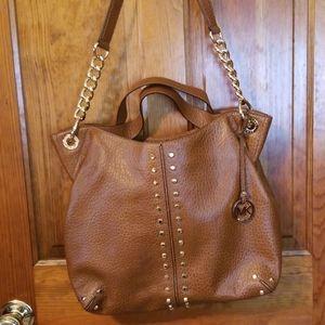 MK leather handbag